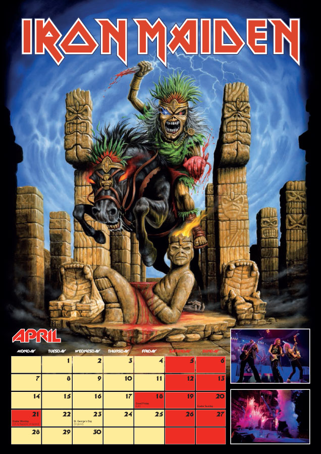 Iron maiden posters 4