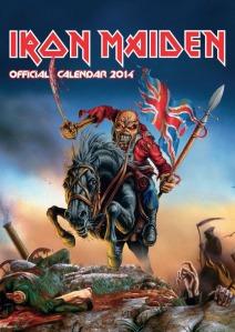 Iron Maiden calendar 2014_front