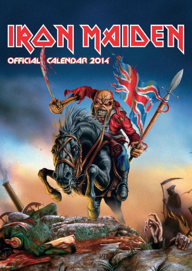 07f4d98540e3a7 Accessories Review – Iron Maiden 2014 Calendar