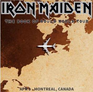 iron maiden montreal