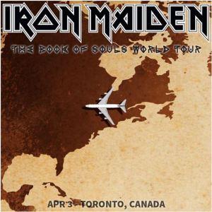 iron maiden toronto