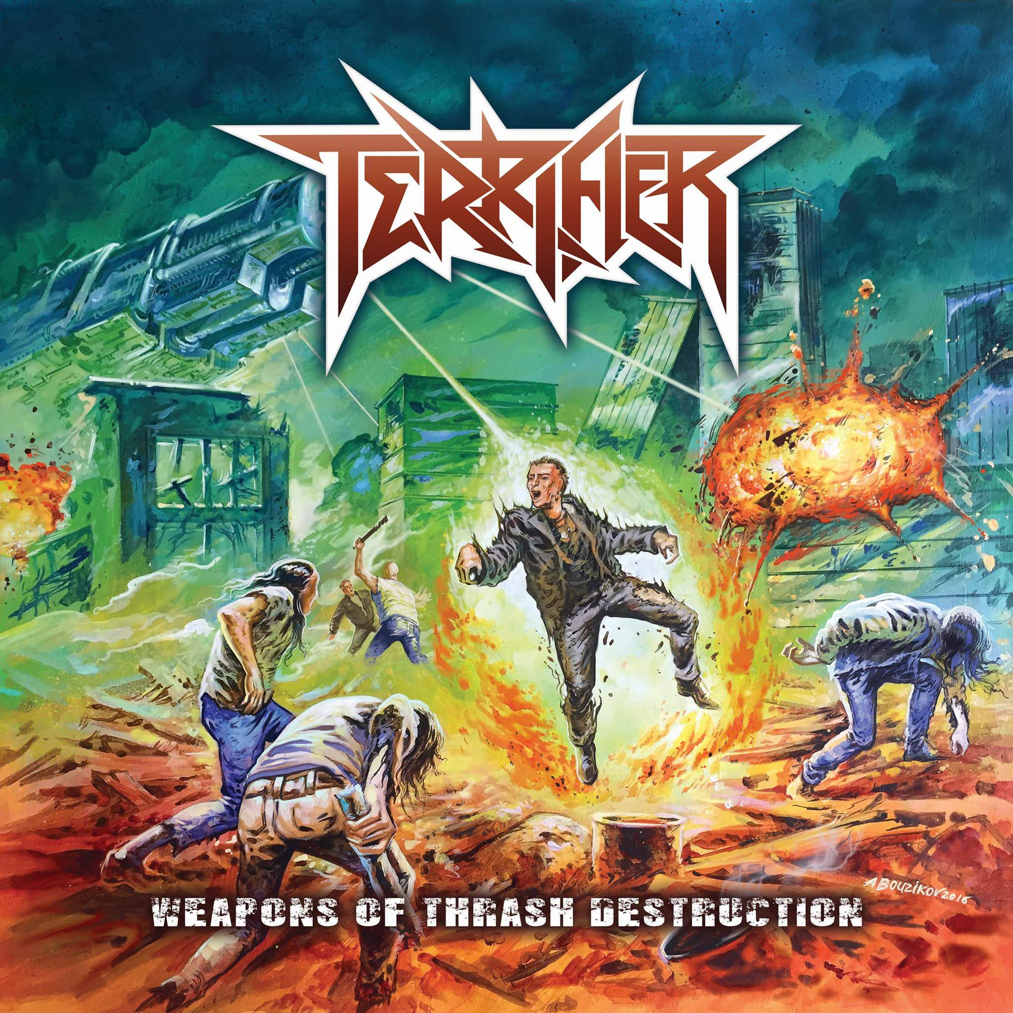 Albums: Terrifier / Weapons Of Thrash Destruction
